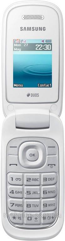 562c6a31ef764 Мобильный телефон Samsung GT-E1272 White DualSim, цена 1 299 грн., купить в  Днепре — Prom.ua (ID#893673300)