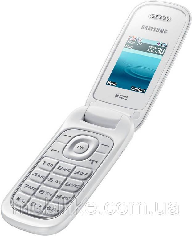 72c5557ee446e Мобильный телефон Samsung GT-E1272 White DualSim - mobiLike в Днепре
