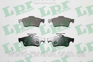 Комплект задних тормозных колодок Рено Лагуна III / LPR 05P1236