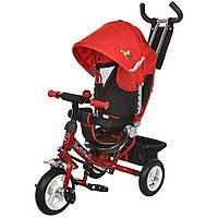 Велосипед 3-х колесный MiniTrike 950D надувные колеса (красный/черный)