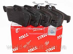 Комплект задних тормозных колодок Рено Лагуна III / TRW GDB1621