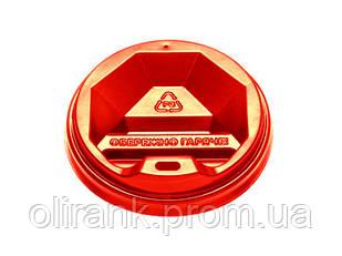 Кришка ТОППЛАСТ КР-77 (червона) 50шт уп 60уп/ящ (під 250 ст )