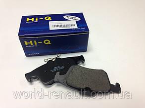 Комплект задних тормозных колодок Рено Лагуна III / HI-Q SP2091