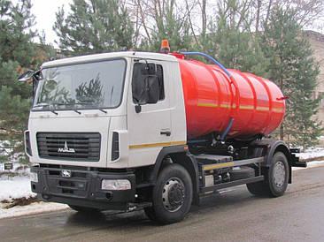Вакумна машина  МВ-12 на шасі МАЗ-5340С2