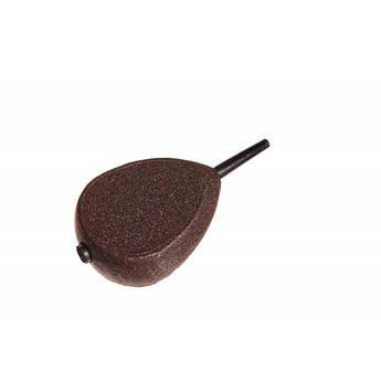 """Грузило Texnokarp """"In-Line плоский"""" коричневый веса в ассортименте"""
