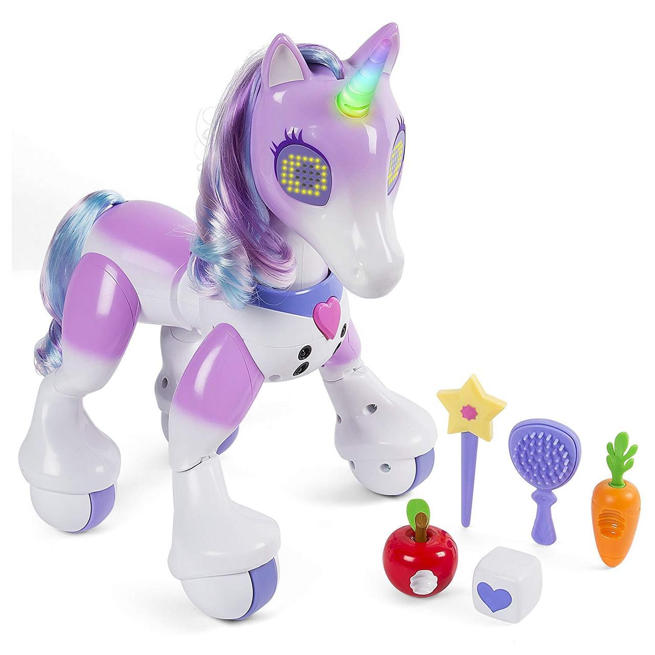 Интерактивный волшебный единорог Zoomer Enchanted Unicorn Exclusive Toy