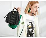 Рюкзак-сумка городской женский FULANPERS  (жемчужно-розовый), фото 5