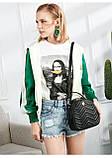 Рюкзак-сумка городской женский FULANPERS  (жемчужно-розовый), фото 6
