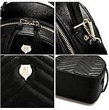 Рюкзак-сумка городской женский FULANPERS  (жемчужно-розовый), фото 8