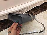 Сумка, клатч Kate Ив Сен Лоран гладкая натуральная кожа, цвет серый, фото 4