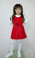 Сарафан - платье Пушок красное, фото 1