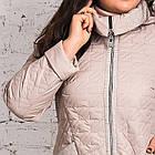 Женское весеннее пальто больших размеров - модель 2019 - (кт-456), фото 4