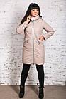 Женское весеннее пальто больших размеров - модель 2019 - (кт-456), фото 3
