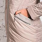 Женское весеннее пальто больших размеров - модель 2019 - (кт-456), фото 5