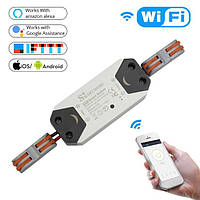 Беспроводной выключатель WiFi реле Smart Home 8839 Умный дом, фото 1