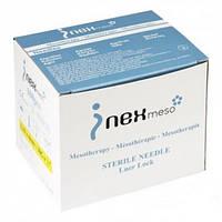Иглы для мезотерапии Inex 32G x 4 мм, и в других размерах Голки