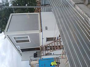 Блок-контейнер 6000х2400х2350 мм 1