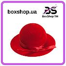 Футляр под кольцо Шляпа красная, фото 2