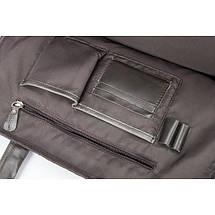 Мужская кожаная сумка Texas XE коричневая eps-5031, фото 2