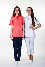 Красивая коттоновая медицинская куртка в большой цветовой гамме, фото 3