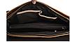 Сумка мужская кожаная Texas CN темно-коричневая, фото 2