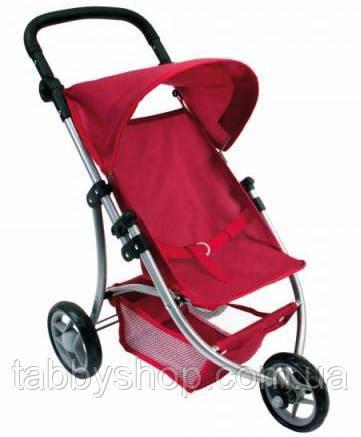 Трехколесная коляска для кукол BINO (красная)