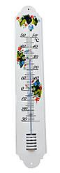 Термометр уличный фасадный металлический 50 см
