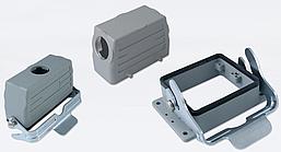 Корпус для промышленного разъема многоконтактного многополюсного типа HDC (Heavy Duty Connectors)