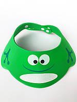 """Шапочка для купания """"лягушка"""" зеленая, фото 1"""