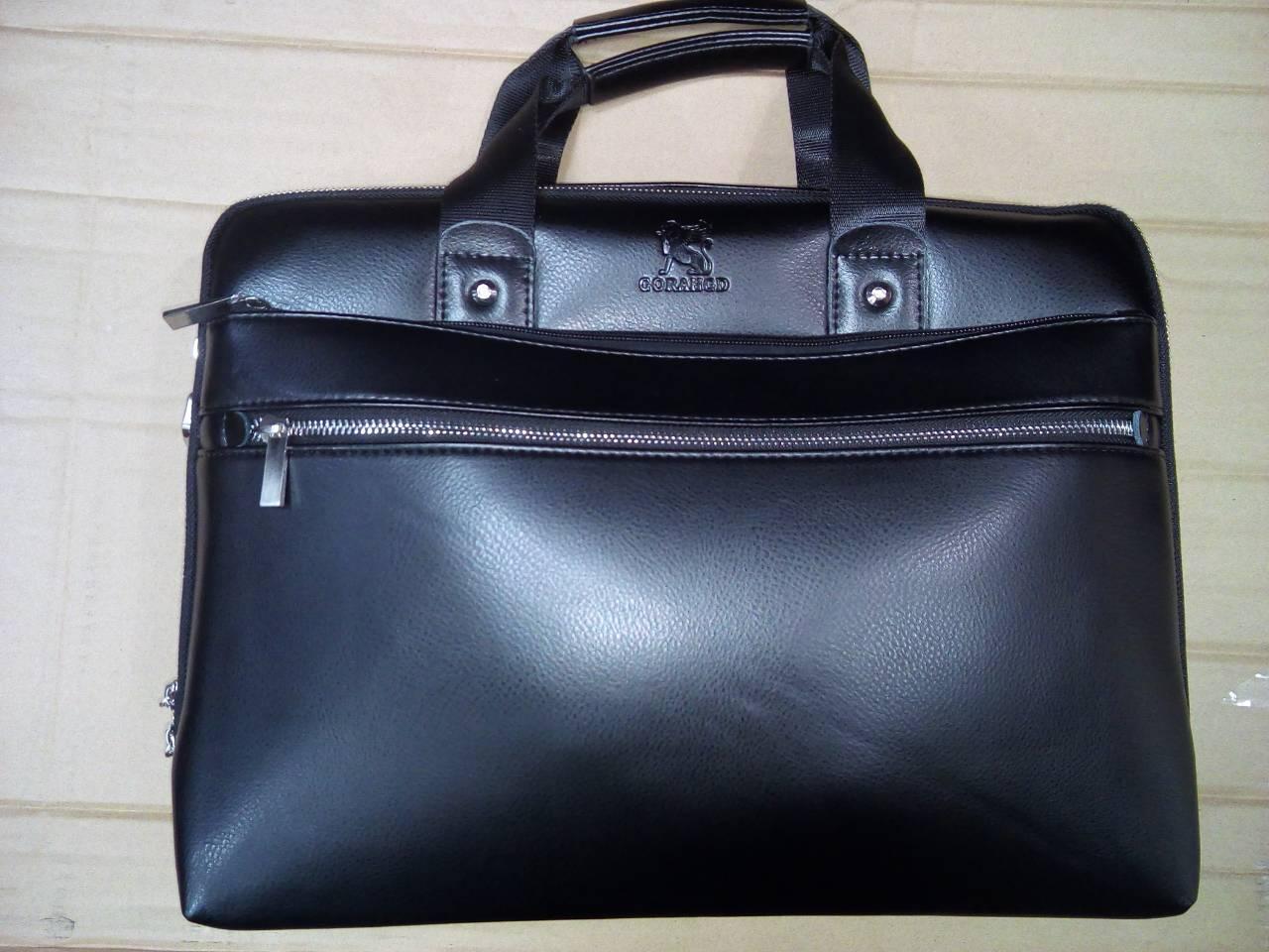 Чоловіча сумка Gorangd через плече з відділом під ноутбук,документи.