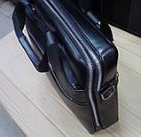 Чоловіча сумка Gorangd через плече з відділом під ноутбук,документи., фото 5
