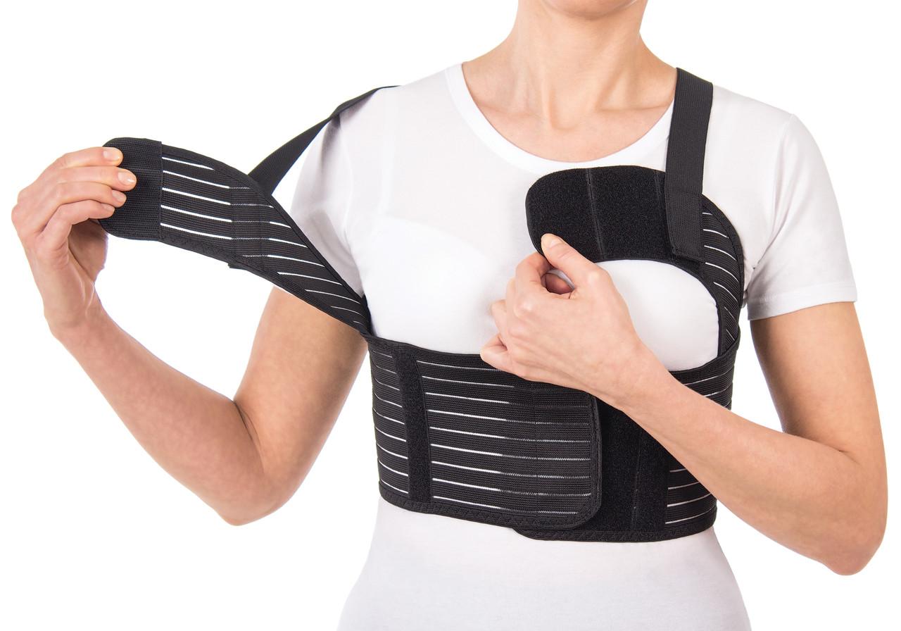 Бандаж для фиксации грудной клетки женский (пористый) Тип 155 Ж, фото 1