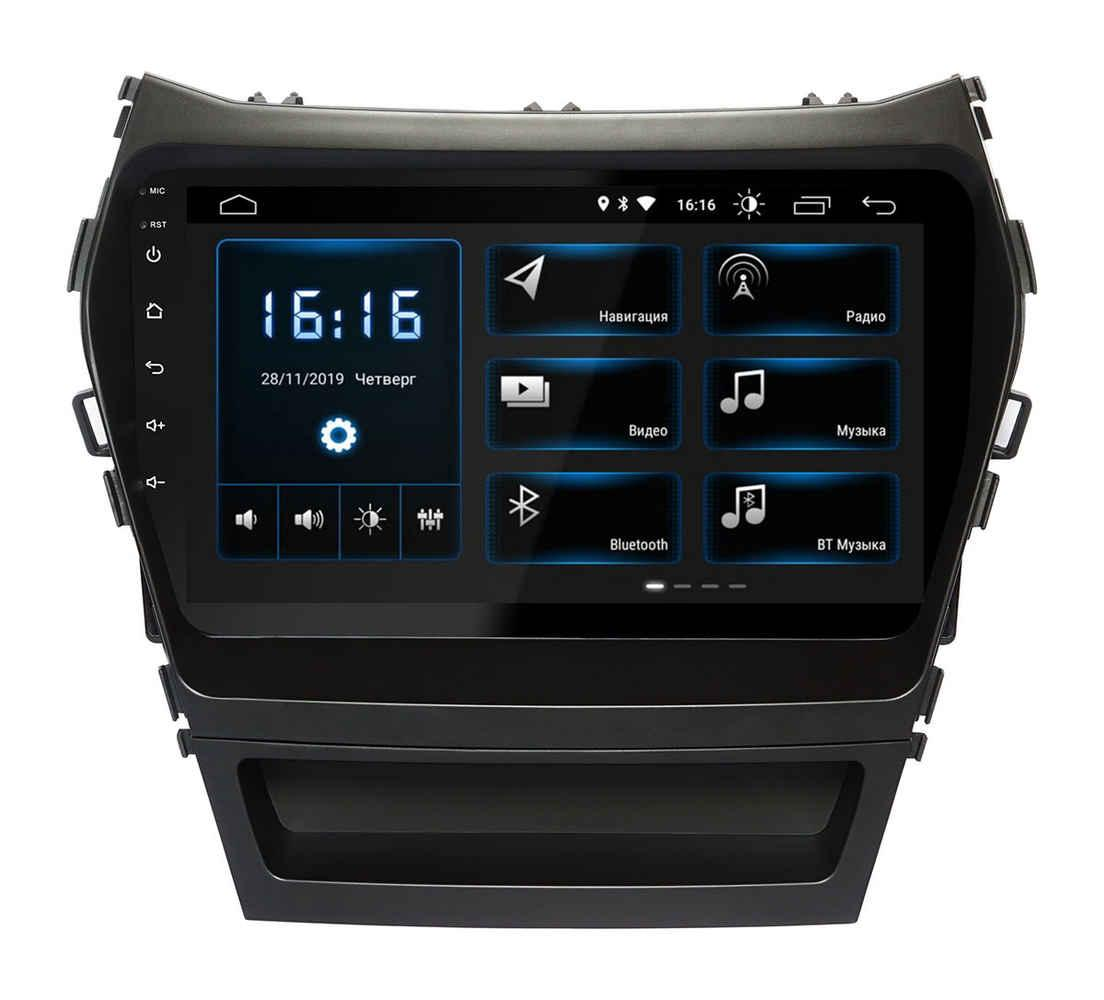Штатная магнитола Hyundai Santa Fe (IX45) 2013+ android 10,0 (XTA-2409) INCar