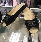 Брендовые женские замшевые тапочки, фото 3