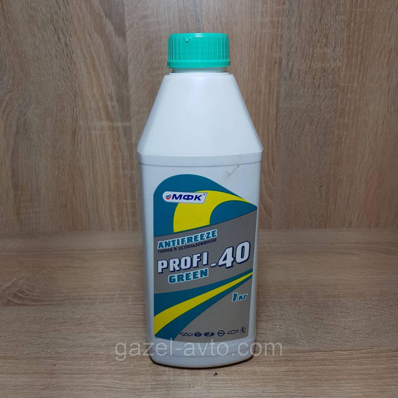 PROFI Антифриз GREEN-40, 0,9 кг
