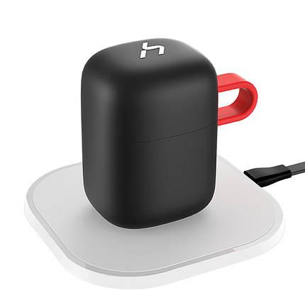Беспроводные наушники и зарядка Havit G1W Black with Red, фото 2