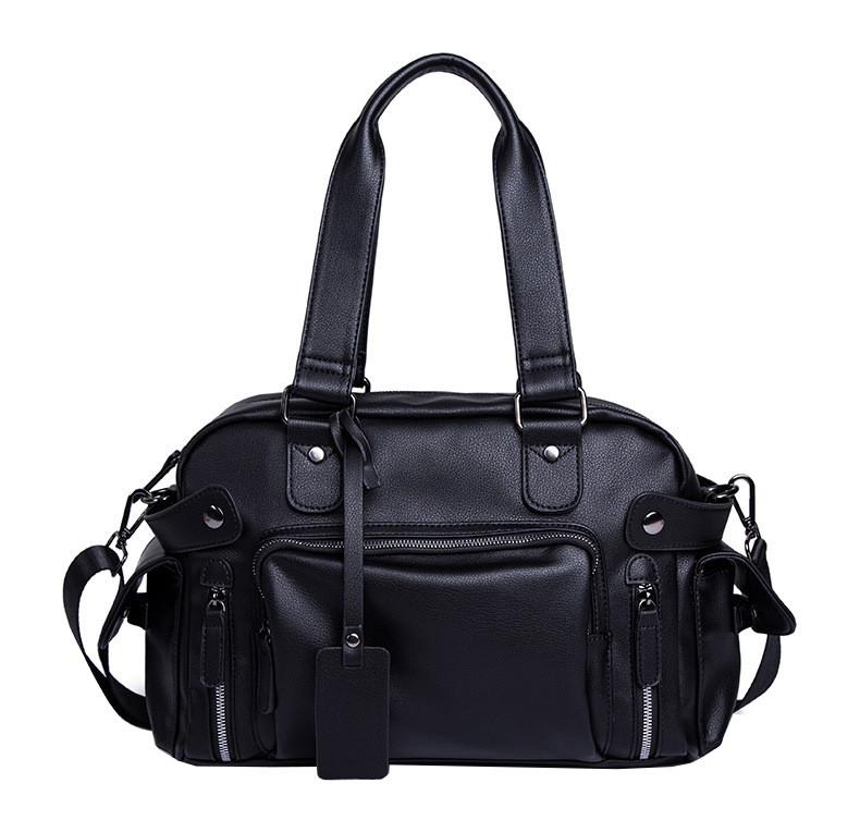 Дорожная сумка мужская BritBag Bailey черная