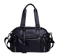 Дорожная сумка мужская BritBag Bailey черная eps-10012