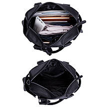 Дорожная сумка мужская BritBag Bailey черная, фото 3
