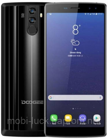 Doogee BL12000   2 сим,6 дюймов,8 ядер,32 Гб,16\16 Мп,12000 мА\ч.
