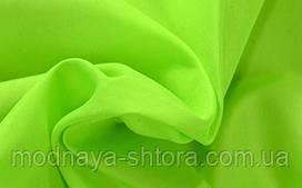 Шифон (вуаль) однотонный ярко-салатовый