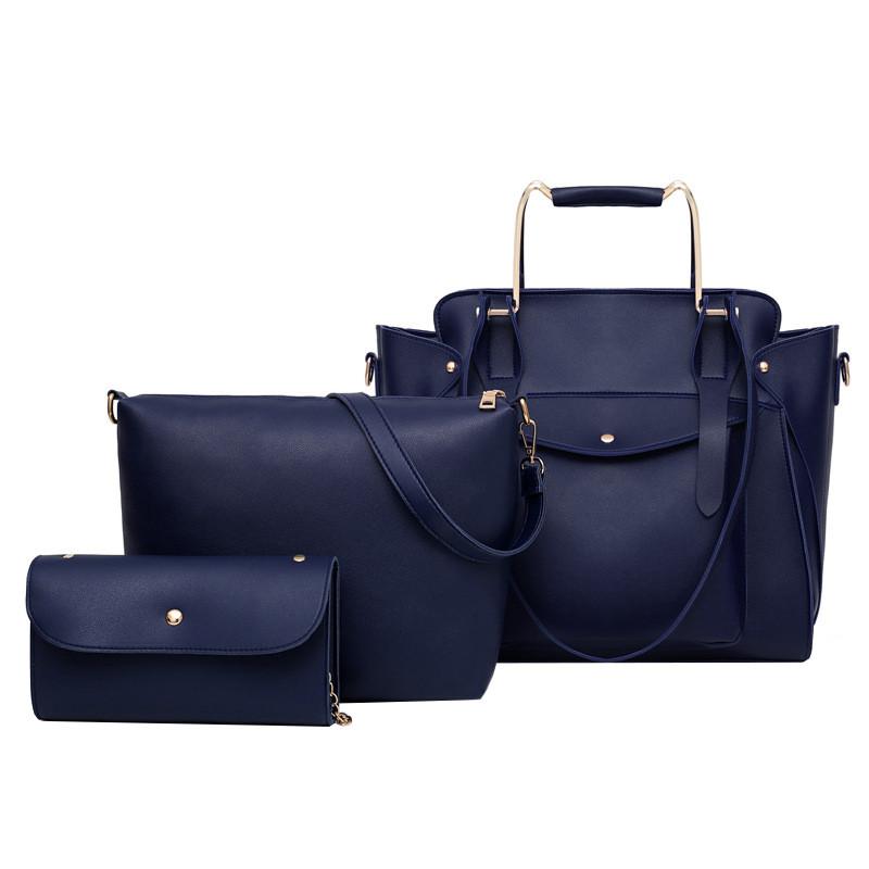 Набор сумок 3 в 1 Amali Cat Navy Blue eps-6152