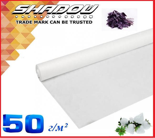 "Белое 4% агроволокно 50 г/м² (6.4 х 100 м.) ТМ ""Shadow"" (Чехия)"