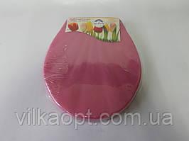 Сиденье для унитаза пластмассовое  (крышка) KL 002 INGI 43 * 35 cm. Крышки для унитазов.