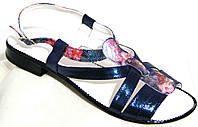 Босоножки женские летние на низком каблуке от производителя модель МИ5010эко