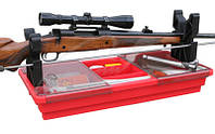 Подставка портативная MTM Portable Rifle Maintenance Center для чистки оружия (с органайзером)