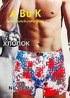 Трусы мужские боксёры хлопок ABUK размер XL-4XL(50-56) 310