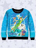 Детский 3D-свитшот Peter Pan. Свитшоты стильные. Прелестный детский свитшот  3D. Детский 2d4198c1877dc