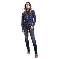 Женские оригинальные прямые джинсы 714 straight популярного американского бренда Levi's, фото 1