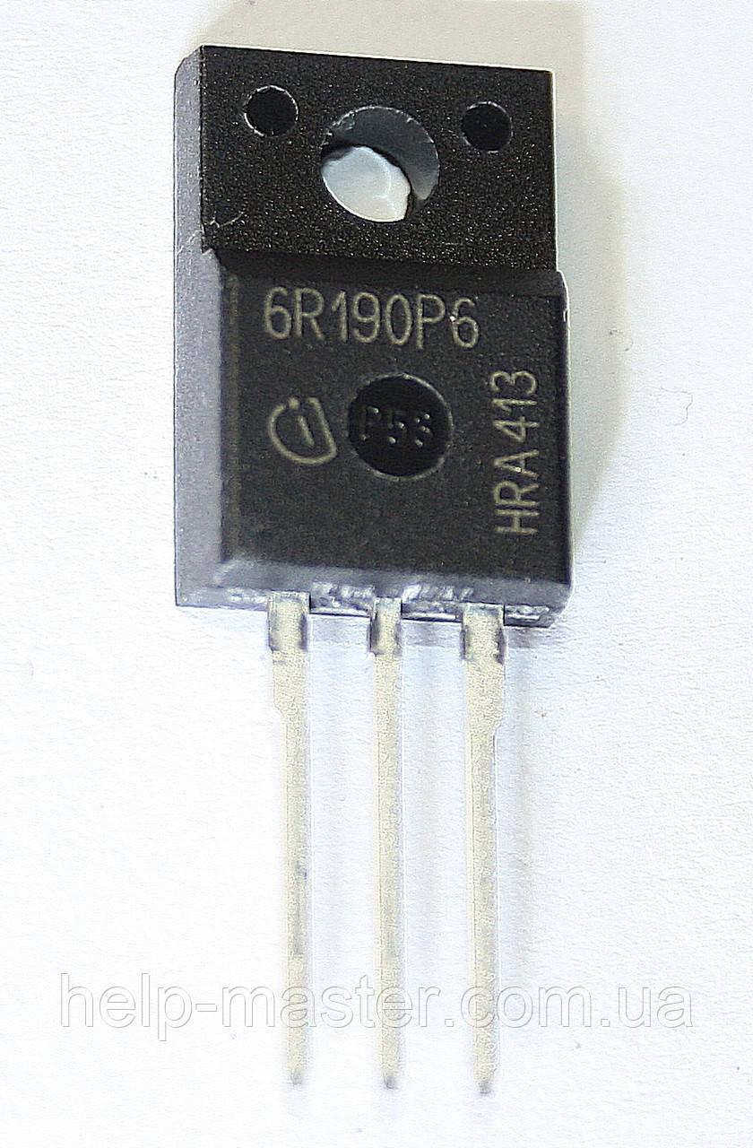 Транзистор IPA60R190P6 (TO-220FP)